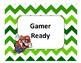 Super Mario Brothers Behavior Chart