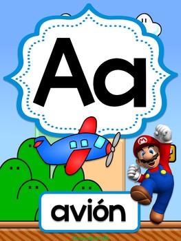 Super Mario Brothers - Spanish Alphabet