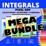 Super Mario Calculus Integrals BUNDLE: Math Pixel Art