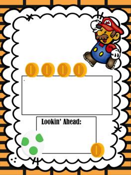 Super Mario Editable Newsletter