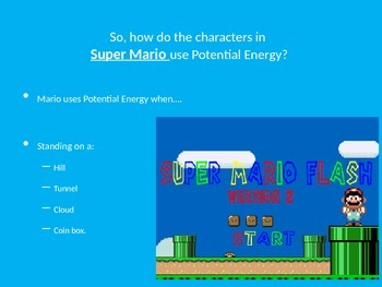 Super Mario Energy Presentation