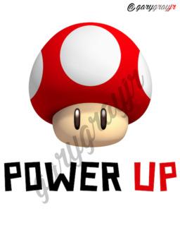 Super Mario Motivational Themed Poster Set