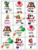Super Mario Multiplication and Division Matching Cards