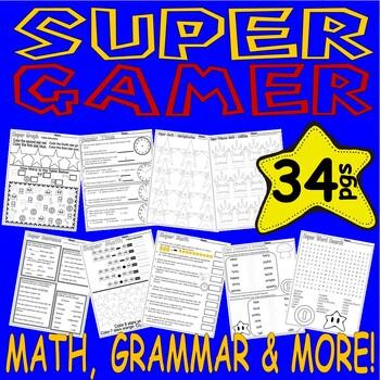 Super Mario Practice Packet