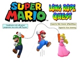 Super Mario Quest Long Jump Rope Gamification Challenge