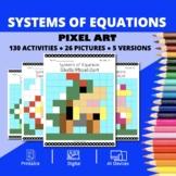 Super Mario: Systems of Equations Pixel Art