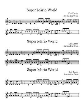 Super Mario World - Recorder