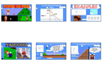 Super Mario and Finding the Slope of a Line!