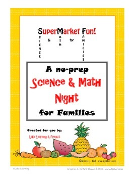 Super Market Fun - No Prep - Science & Math for Families