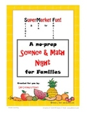 Super Market Fun - No Prep - Science & Math for Families