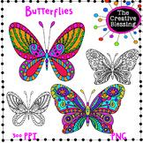 Free Butterfly Clip Art