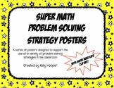 Super Math Problem Solving Strategy Posters