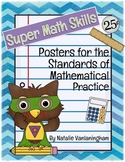 Super Math Skills Posters- Common Core Standards for Mathe