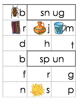 Rhyming Word Family Flip Books Bundle of 133 Word Families in Color and BW