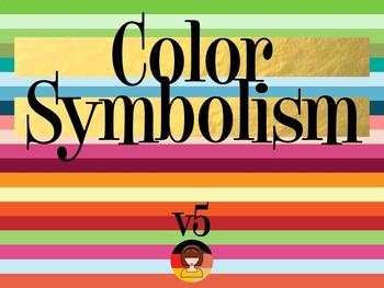 Super Mega Ultra Color Symbolism PowerPoint