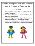 Super Multiplication and Division Task Cards