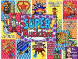 Super Musicians Music Bulletin Board