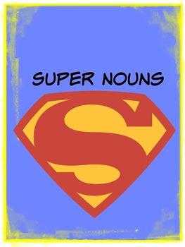 Super Nouns Lesson