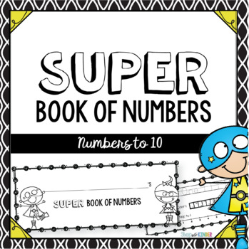 Super Number Book: Numbers 1-10