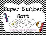 Super Number Sort! [Number Sense Freebie]