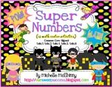Super Numbers {18 Math Center Activities}
