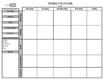 Super Organized Lesson Planning Bundle