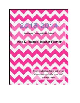 Super Organized Teacher Planner