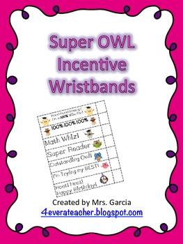 Super Owl Wristbands