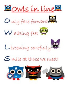Super Owls in Line