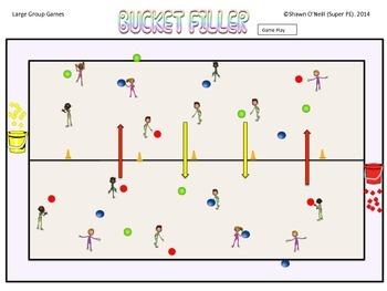 "Super PE Game - ""Bucket Filler"""