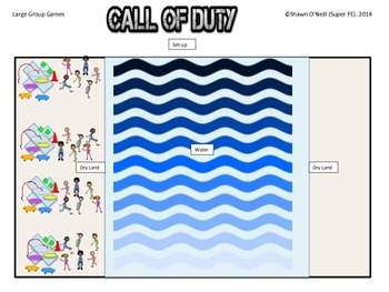 "Super PE Game - ""Call of Duty"""