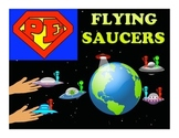 "Super PE Game - ""Flying Saucers"""