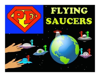 """Super PE Game - """"Flying Saucers"""""""