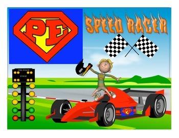 "Super PE Game - ""Speed Racer"""