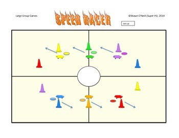 "Super PE Game - ""Speed Racer"""