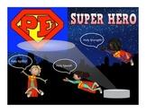 "Super PE Game - ""Super Hero"""