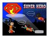 "Super PE Game - ""Super Hero"""