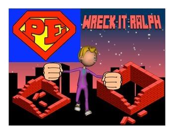 """Super PE Game - """"Wreck-It-Ralph"""""""
