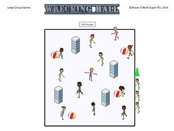 """Super PE Game - """"Wrecking Ball"""""""
