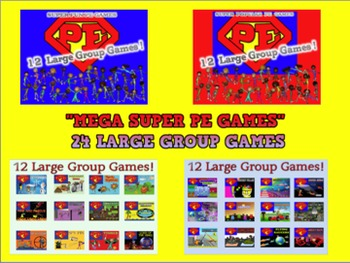 """Super PE Large Group Games"" - {2 Series Mega Bundle}"
