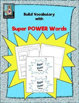 Super POWER Words Booklet