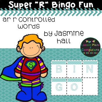 Super Phonics Bingo: AR R Controlled Words