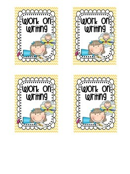 Super Polka Dot and Chevron Daily 5 Posters and Cards