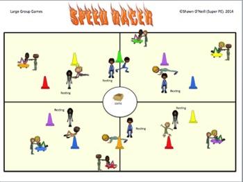 """""""Super Popular PE Games"""" 12 Large Group Games {Bundled Set #2}"""
