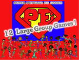 """Super Popular PE Games"" 12 Large Group Games {Bundled Set #2}"