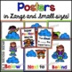 Position Words Posters + Minibook (Superhero Theme)