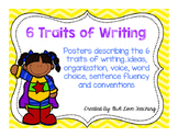 Super Posters for the 6 Traits of Writing