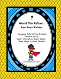 Super Power Package creative writing  and brainstorming po