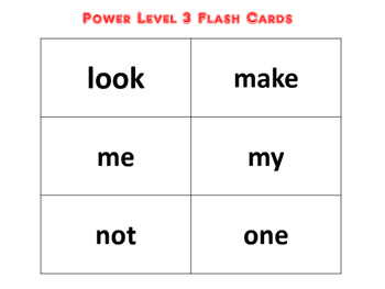 Super Power Sight Words