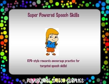 Super Powered Speech Words